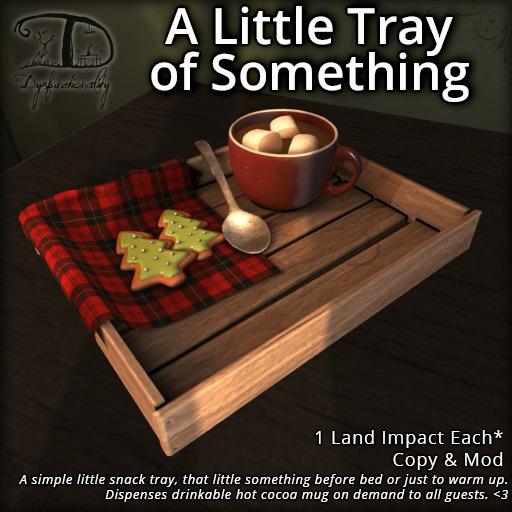 [DDD] A Little Tray of Something