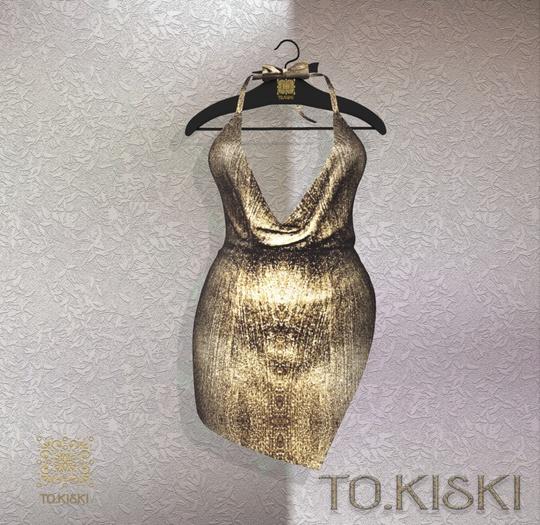 TO.KISKI - Kami Mini dress - Sunshine (Add)