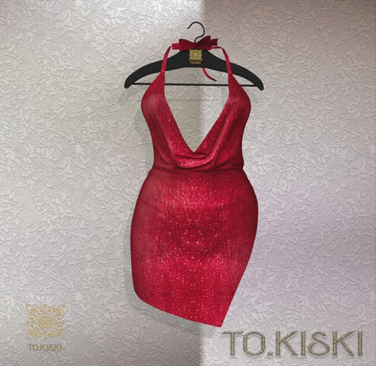 TO.KISKI - Kami Mini dress - Shiny Cherry (Add)