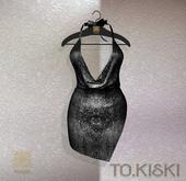TO.KISKI - Kami Mini dress - Shiny Moon (Add)