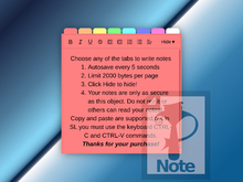 Notepad HUD (NotePazz HUD)