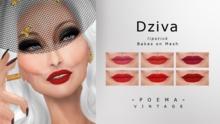 P O E M A Vintage- Dziva Lipstick (wear to unpack)