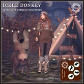 Jinx : Ickle Donkey Animesh Companion - wear to unpack