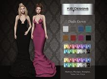 """KiB Designs - Dada Gown DEMO """"Wear"""""""