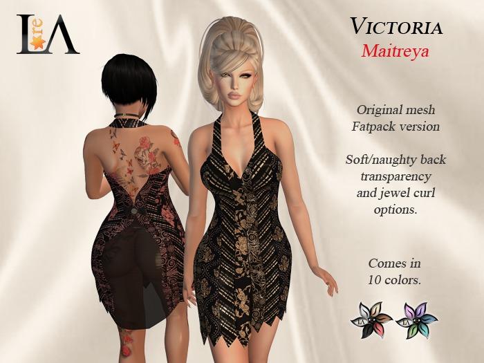 LA-Victoria Dress Fatpack