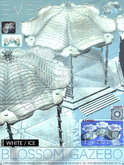 E.V.E Blossom Gazebo {White/Ice} (add)