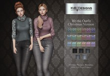 "KiB Designs - Blythe Outfit FATPACK Christmas  DEMO ""Wear"""