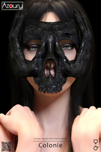 AZOURY - Colonie Mask