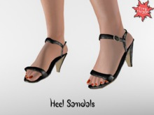 : Tiny Things : Heel Sandal - Anastasiya
