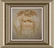 DM Vintage Baby Framed