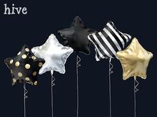 hive // single star balloons