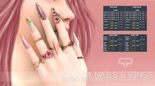 Pure Poison - Dhalia Nails & Rings