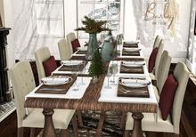 Barley - Glasgow Complete Dining Set
