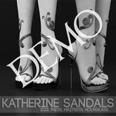 DEMO - Pure Poison - Katherine Sandals & Anklet