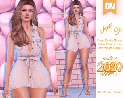 DM:: Mell Set - Maitreya Belleza Slink