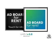 *LOW* 'The Excellent' AD Board (with status bar)
