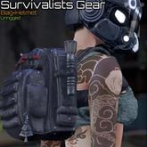 [inZoxi] - Survivalists Gear - Blue Set