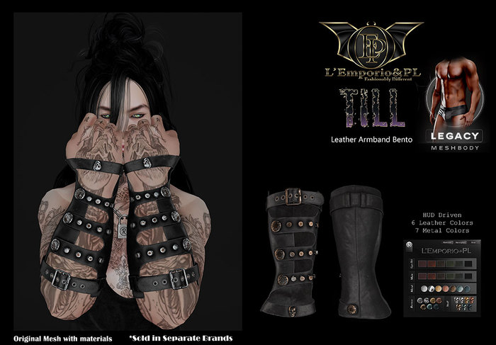 L'Emporio&PL::*Till*::-Leather Armband-Legacy m.(1.1)