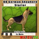 BB German Shepherd Starter