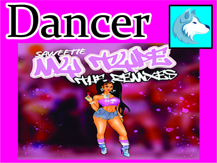 Saweetie - My Type Dancer Female/male BOXED