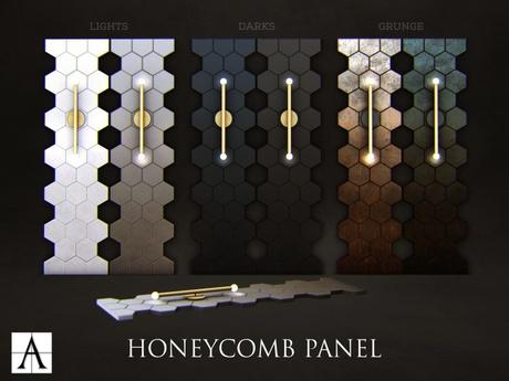 Architect. Honeycomb Panel (lights)