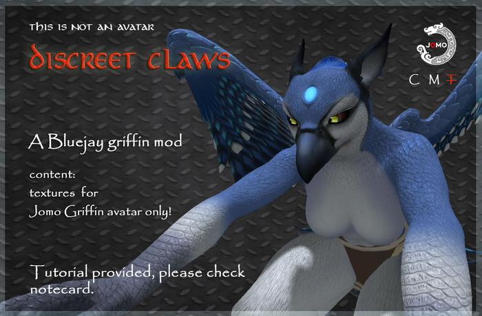 Wear Me- Jomo female Griffin mod- Bluejay