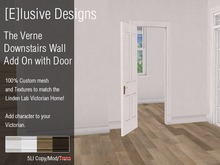 [E] Victorian Verne Downstairs Wall Divider Add On