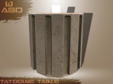 [WASD] Tatooine Table