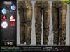 DUTY LIGHT BROWN Male Cargo Pants MESH - ADAM, AESTHETIC, SIGNATURE GIANNI- GERALT, SLINK, TMP, JAKE - FashionNatic