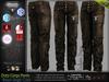 DUTY BROWN Male Cargo Pants MESH - ADAM, AESTHETIC, SIGNATURE GIANNI- GERALT, SLINK, LEGACY, JAKE - FashionNatic