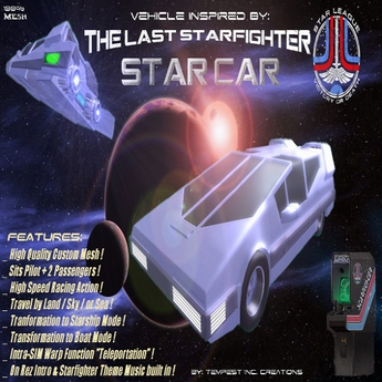 Vehicle Inspired by: Star_Car