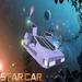 Star car in space open hatch doors