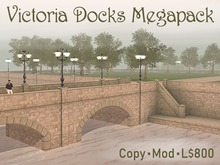 Victoria Lamp Posts, Roads, Bridges & Docks Megapack