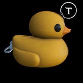 [Dope+Mercy]Yellow Duckling Toy_Yellow #18