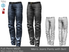 Full Perm ~ Men's Jeans Pants with Belt (Signature Gianni, Belleza Jack, Slink Male)