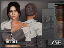 Ade - Nicole Hairstyle (Browns)