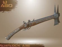 [WASD] Flintlock Axe