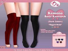 *>Kiu<* - Kemono Basic Kneesock_DC