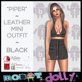 RD - Piper - Bra Top & Mini - Black