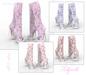 *** Harmonia FATPACK Vintage Peep Toe Boots Maitreya Kupra Slink Belleza Legacy