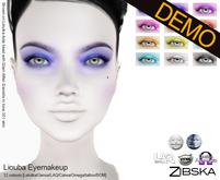 Zibska ~ Liouba Eyemakeup Demos [lelutka/Genus/LAQ/Catwa/omega/universal tattoo BOM]