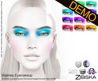 Zibska ~ Waimea Eyemakeup Demos [lelutka/Genus/LAQ/Catwa/omega/universal tattoo BOM]