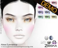 Zibska ~ Aileas Eyemakeup Demos [lelutka/genus/laq/catwa/omega/universal tattoo/BOM layer]