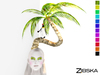 Zibska ~ Arecaceae Color Change Palm Tree headpiece in two version (with and without penguin)