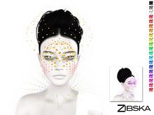 Zibska ~ Bauble Color Change Mask and Collar