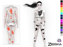 Zibska ~ Alvise Deux Body Tattoo in 16 Colors