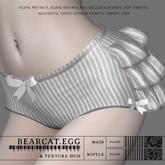 BEARCAT.EGG ; Ruffle Shorts Moon