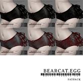 BEARCAT.EGG ; Ruffle Shorts FATPACK 20% OFF