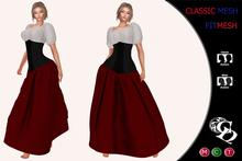 C&N Medieval Underbust Corset Dress Alema *PROMO MARKET*