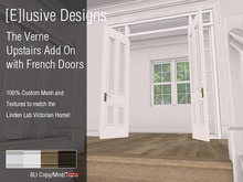 [E] Verne Upstairs Wall with French Doors Add On